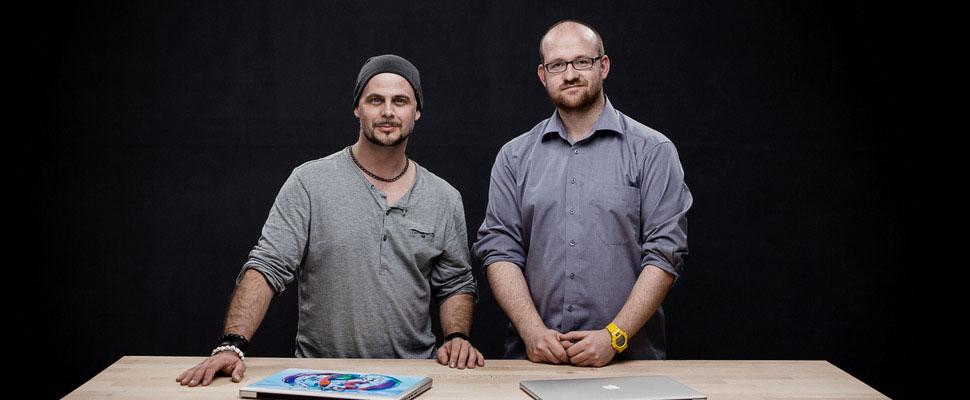Matthias Schwaighofer und Martin Krolop