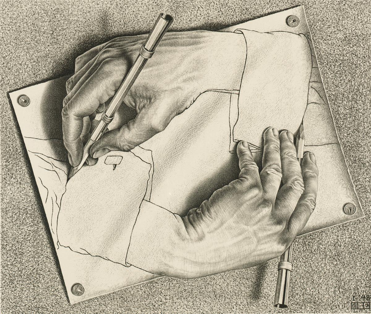 Zeichnen, 1948, Lithographie, 28,2 x 33,2 cm